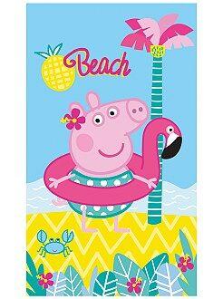 Linge de toilette - Drap de plage 'Peppa Pig' - Kiabi