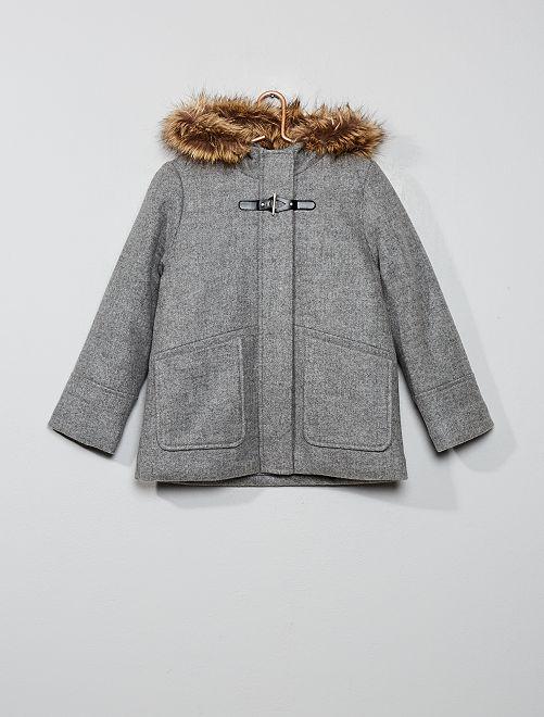 Duffle coat                             gris