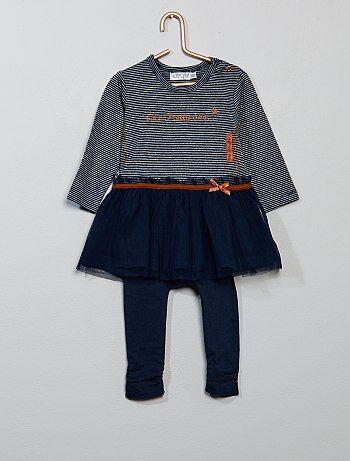 Ensemble 2 pièces robe + legging - Kiabi