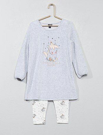 Ensemble pyjama 'licorne' - Kiabi