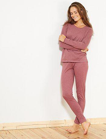 Ensemble pyjama long - Kiabi