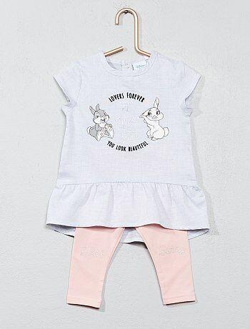 Ensemble robe + legging 'Miss Bunny' - Kiabi