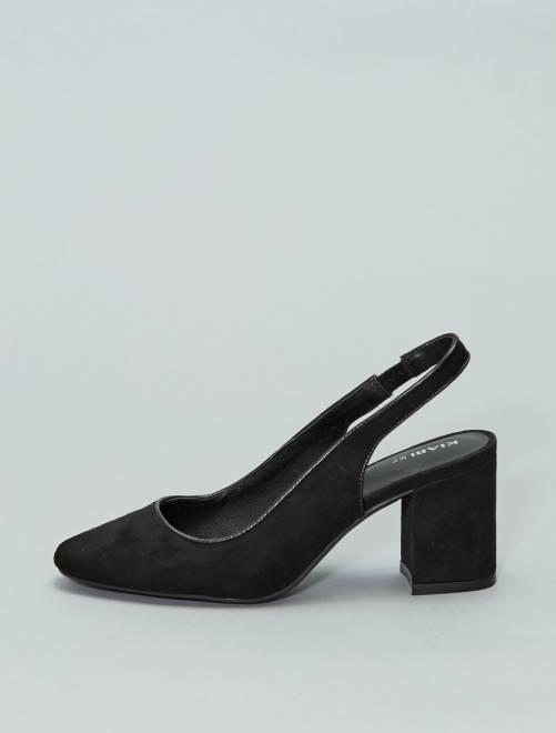 Escarpins à talons                             noir Femme