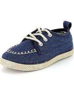 Chaussures ville - Espadrilles à lacets