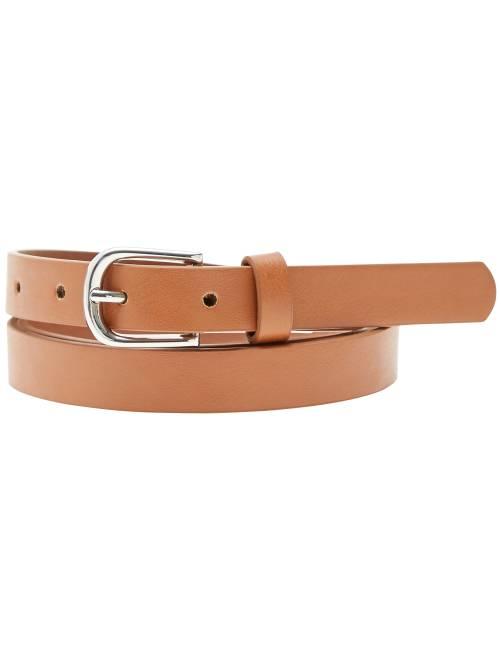 Fine ceinture                                                                             camel Femme