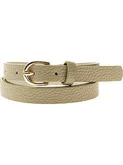 Accessoires vert - Fine ceinture