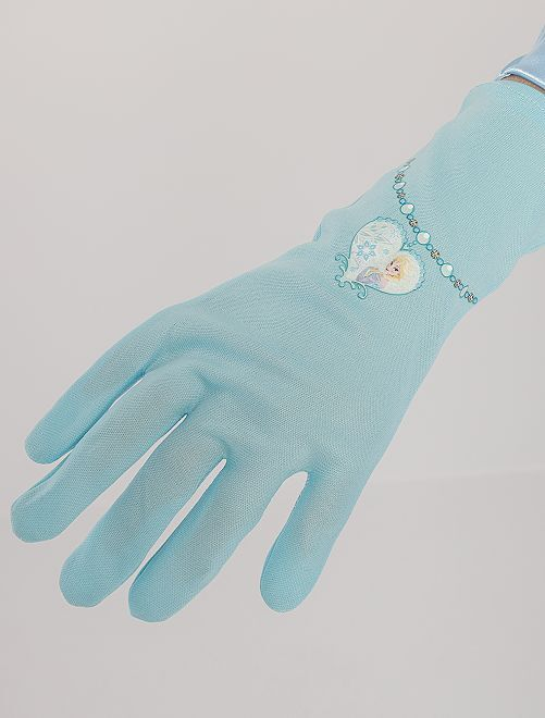 Gants d'Elsa 'La Reine des Neiges'                             bleu
