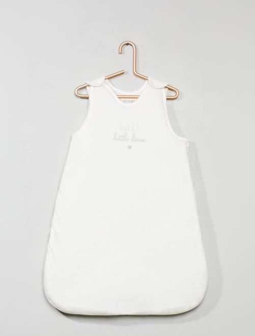 Gigoteuse jersey                             blanc