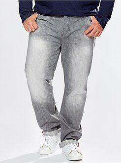 Denim - Jean regular 5 poches