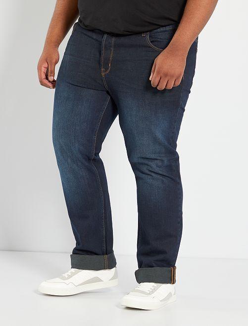 Jean regular 5 poches L32                                                                 bleu indigo