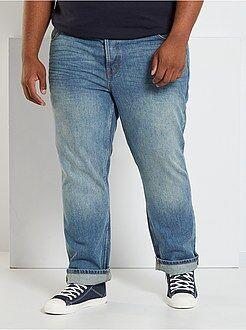 Jean - Jean regular 5 poches L32 - Kiabi
