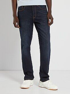 Denim - Jean regular 5 poches longueur US 32