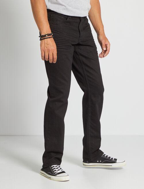 Jean regular L34 'éco-conception'                                                                 noir
