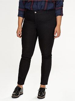 Grande taille femme Jean skinny 2 poches