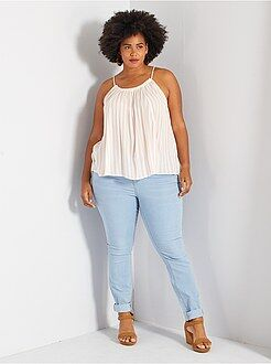 Jean skinny - Jean skinny 5 poches effet push-up L32