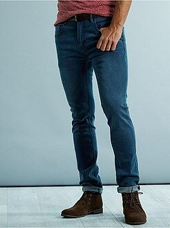 Jean bleu - Jean skinny coton stretch