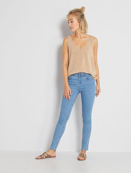 Jean skinny                                                                                         double stone