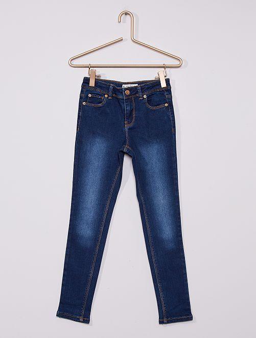 Jean skinny éco-conçu                                             bleu brut