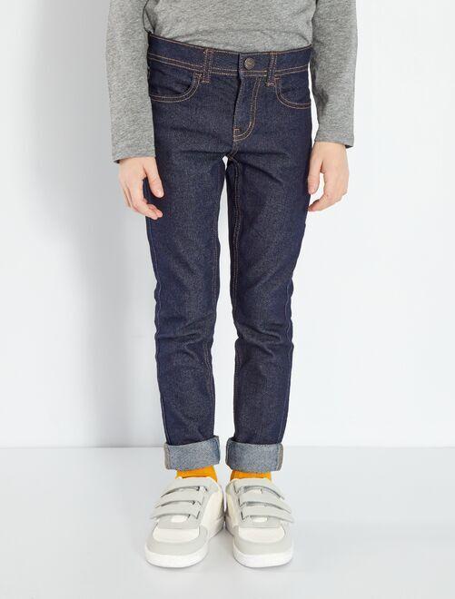 Jean skinny éco-conçu                                         bleu foncé