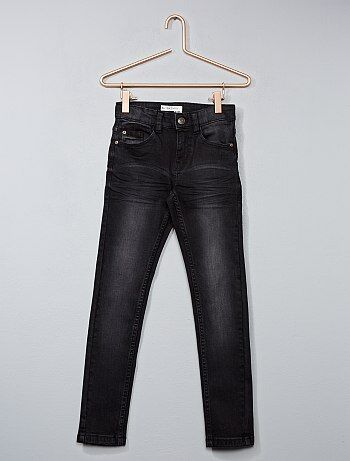 Jean skinny effet délavé - Kiabi