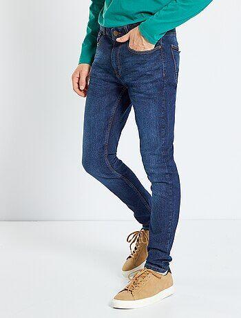 Jean skinny effet plissé - Kiabi