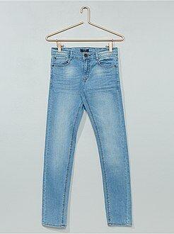 Garçon 10-18 ans - Jean skinny effet plissé - Kiabi