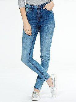 Jean skinny super taille haute longueur US 32