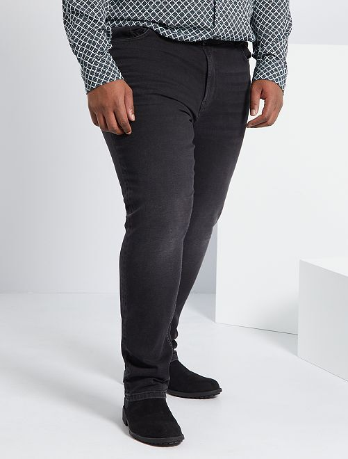Jean slim coton stretch L32                                                                             anthracite
