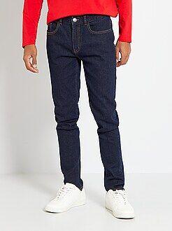 Jean slim - Jean slim en coton stretch - Kiabi
