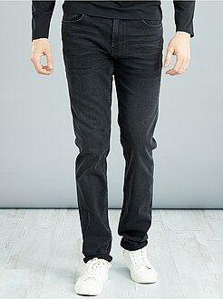 Jean slim en coton stretch L38 +1m90 - Kiabi
