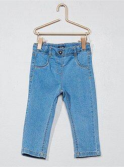 Denim - Jean slim en denim stretch