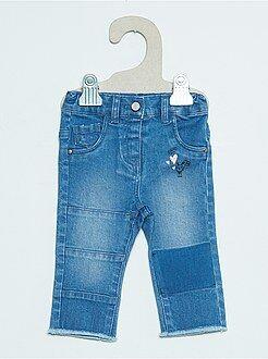 Pantalon, jean, legging - Jean slim fantaisie