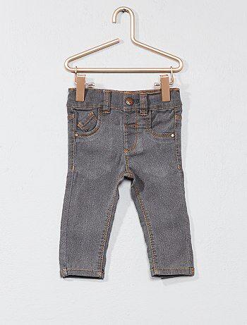 Jean slim taille ajustable - Kiabi