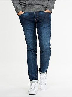 Denim - Jogg jean slim maille stretch