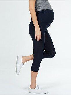 Maternité Legging de grossesse maille extensible