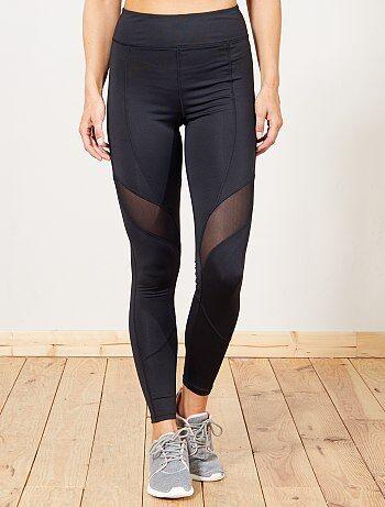 Legging de sport poche zippée - Kiabi