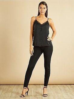 Pantalon - Legging fibre métallique