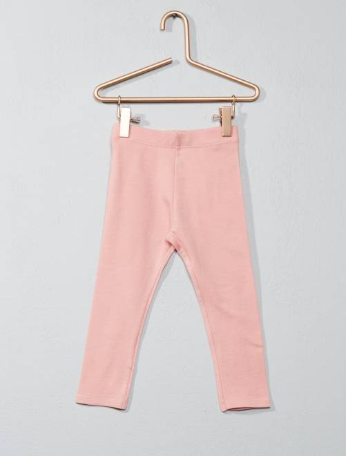 Legging jersey stretch                                                                                                     vieux rose