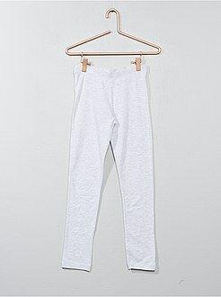 Legging long - Legging long en coton stretch - Kiabi