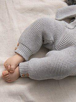 Legging point mousse en coton bio