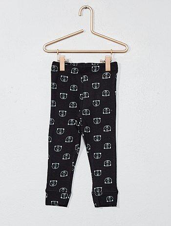 Legging pur coton imprimé - Kiabi