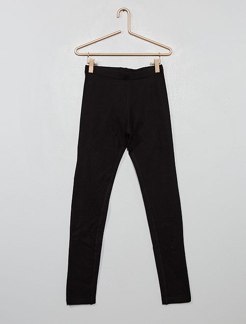 Legging stretch uni                     noir