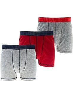 Sous-vêtements - Lot 3 boxers grande taille