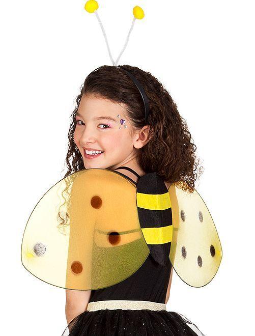 Lot ailes + serre-tête animal                                          abeille Femme