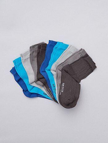 Garçon 3-12 ans - Lot de 10 paires de chaussettes - Kiabi