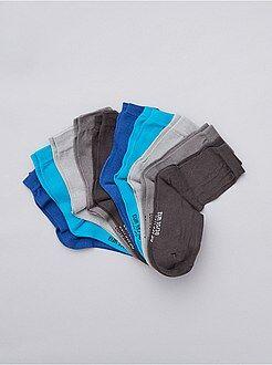 Chaussettes - Lot de 10 paires de chaussettes - Kiabi