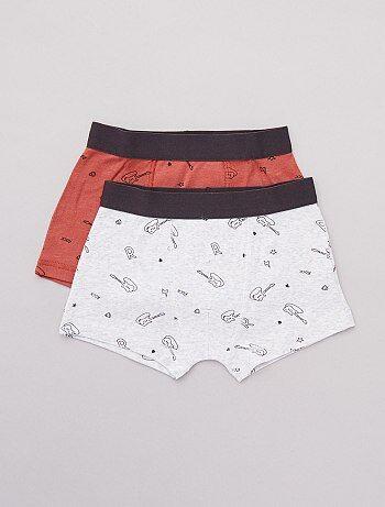 332fe59ea4af7 Soldes sous-vêtements garçon pas chers et boxers - mode enfant ...
