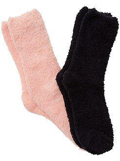 Collants, chaussettes - Lot de 2 paires de chaussettes - Kiabi