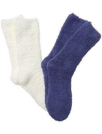 Lot de 2 paires de chaussettes - Kiabi