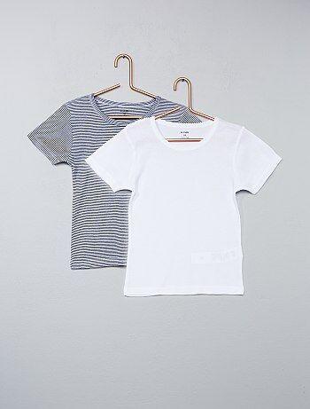 Lot de 2 tee-shirt coton - Kiabi